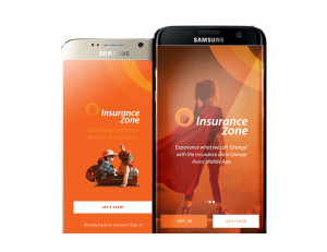 Orange Assist App on Cell