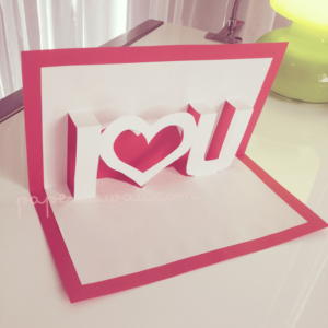 23 - Paper Kawaii - Pop Up card